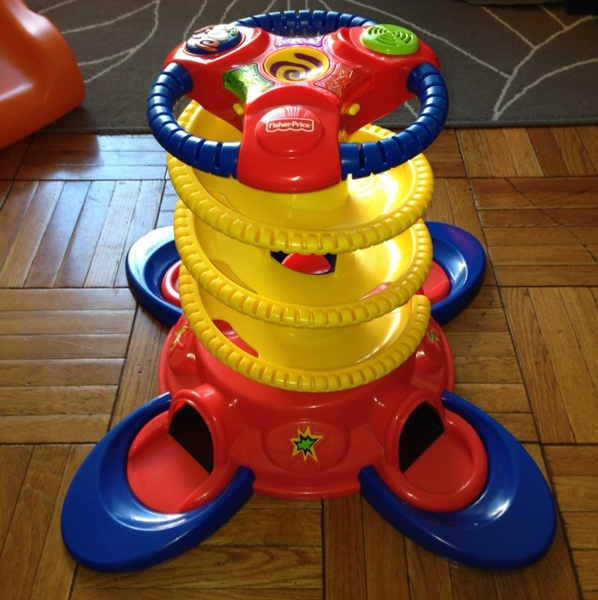 Free ☆。☆。☆ Fisher Price Baby Play Zone Stand Up Ball