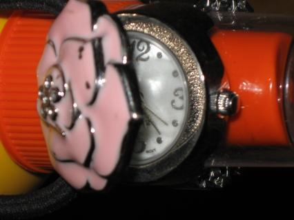 LOW gin~**Pink Rose Ring Watch by AVON**~