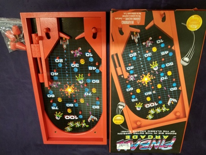 Classic Retro Pinball Arcade Game by The Gaming Room, made out of wood w/Free Shipping