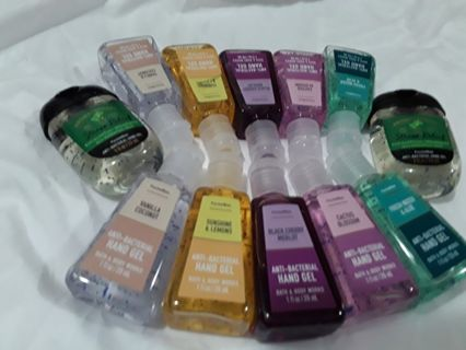 Bath and Body Works pocketbac hand sanitizers one time LOW offer for 12!
