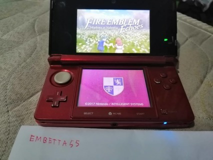 Nintendo 3DS Console Flare Red - NTSC USA