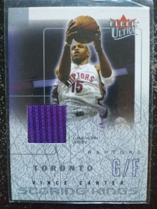 '03-'04 Vince Carter (GU Jersey)(Toronto Raptors)