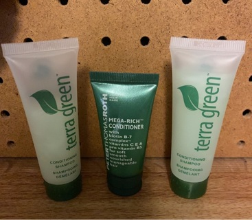 3 Pc Green Travel Kit