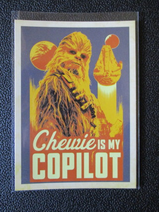 2018 Topps Star Wars Solo Smooth Sayings Card #SS-2