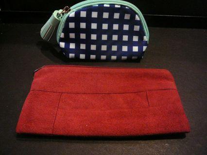 Vintage Laurice Keyloun Cosmetic Bag & New Avon Tissue or Lipstick Bag