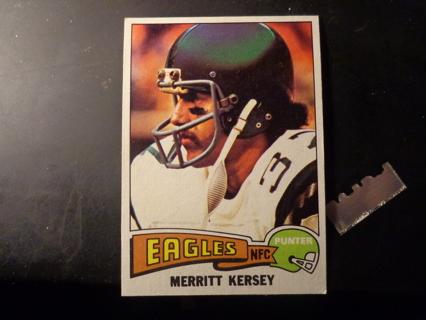 1975 Topps NFL #477 - Merritt Kersey - Philadelphia Eagles