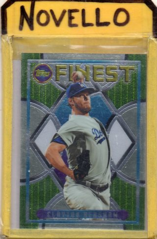 Clayton Kershaw 2015 Topps Finest 1994 Flash Back #94F-01..... Dodgers ... FREE .. S/H