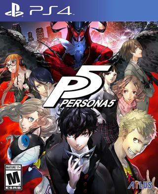 Persona 5 - PlayStation Hits - PlayStation 4 Standard Edition - New