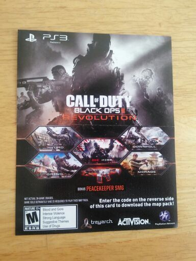 black ops 2 map packs free ps3