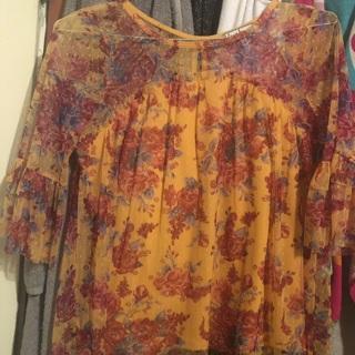 Beautiful yellow shirt M NWT