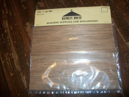 Free handley house wood paneling flooring for dollhouse for Handley wood