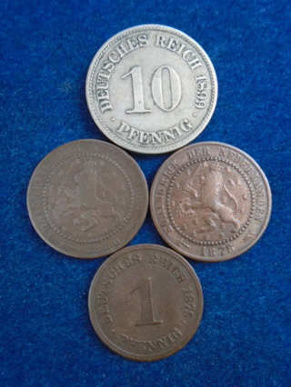 1800's OLD WORLD COINS FULL BOLD DATES!