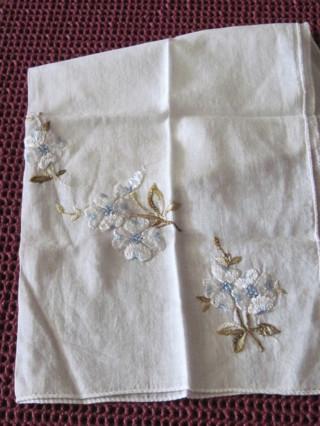 4 Embroidered Hankies