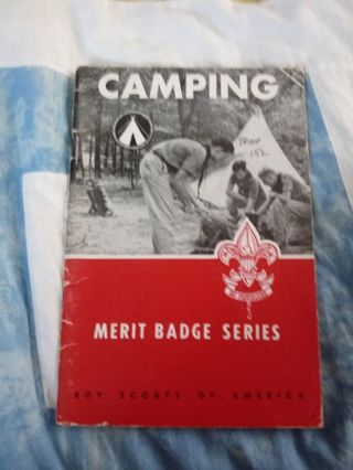 Boy Scouts of America Merit Badge Series Book Camping