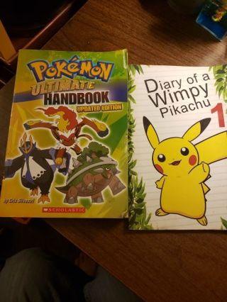 3 Pokemon Books