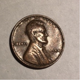 1944 LINCOLN WHEAT CENT
