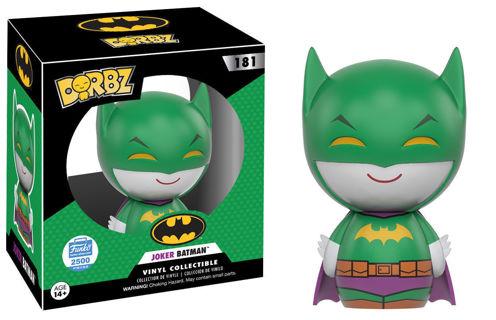 Funko Dorbz Joker Batman Funko-Shop Exclusive LIMITED to 2500 SOLD OUT  Joker Batman mashup