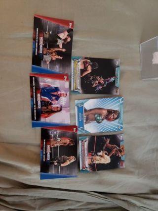 Ember Moon wwe 6 card lot
