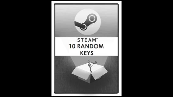 10 Random Steam Game Keys!! AMAZING DEAL!!