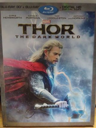 THOR The Dark World ~ blu ray