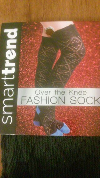 ~Over The Knee Fashion Socks~Brand New~