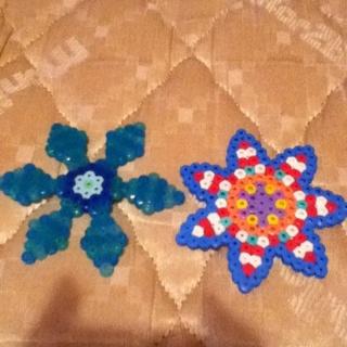 Star/flower Melted Beads