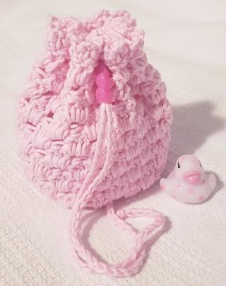Crochet Pull String Gift Bag,**LQQK***