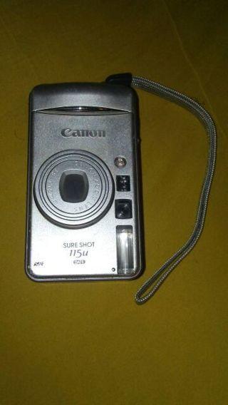 Canon silver digital camera
