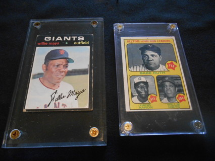 Free Babe Ruth Hank Aaron Willie Mays Authentic Baseball