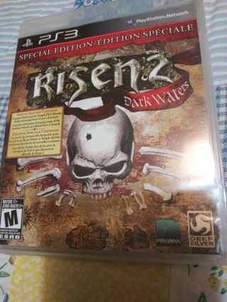 PS3 Risen 2 Dark waters. Special Edition FREE SHIPPING