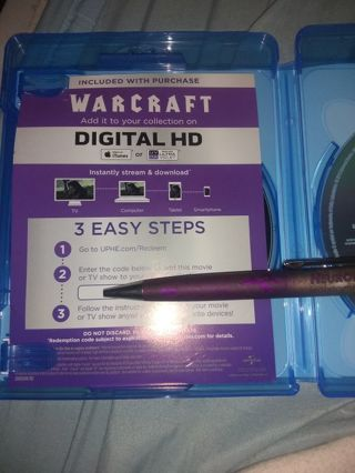 """Warcraft"" digital HD code"