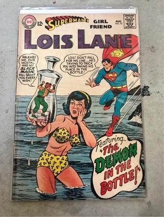 Superman's Girl Friend Lois Lane #76 12cent Cover Silver Age