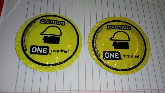 2 Caution CONDOMS