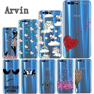 Arvin Silicone Case for Huawei Honor 9 Soft TPU Case for Huawei Honor 9 Premium Slim Crystal Clear