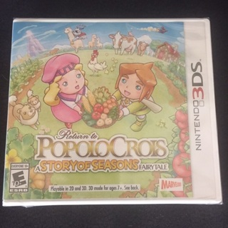 3DS Game - Return to PopoloCrois