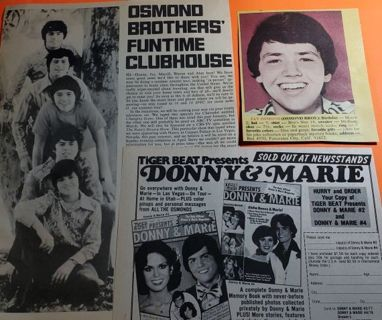 Osmond Pictures and Articles from the 70's!