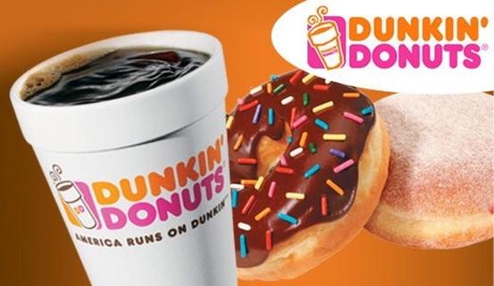 $10.00 Dunkin Donut Card