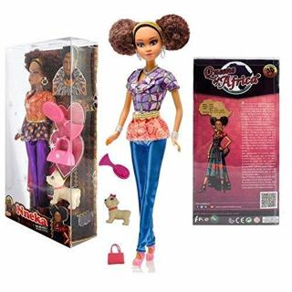 NEW NNEKA DOLL FASHION DOLL TOY W/ ACCESSORIES FREE SHIPPING