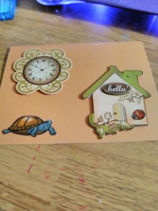 """""""Just A Hello"""" Design Card with Envelope"""