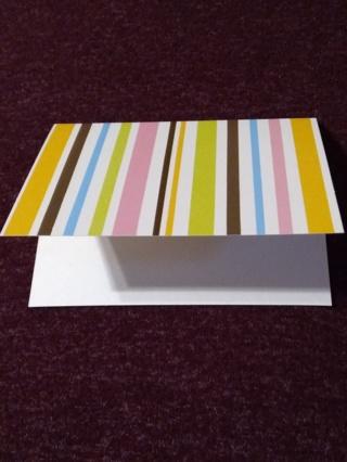 Stripe Notecards