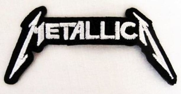 Metallica IRON ON Patch Metal Band Adhesive Patch Embroidered Applique FREE SHIPPING