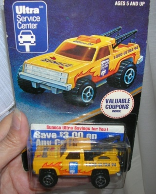 1993 Limited Edition 1:64 SUNOCO TOW TRUCK MIP Made In FRANCE