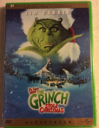 DVD How the Grinch Stole Christmas