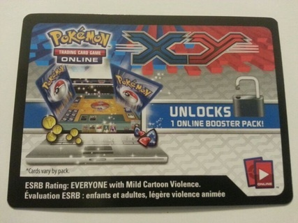 10 Codes With GIN Pokemon TCGO promo codes for XY booster packs