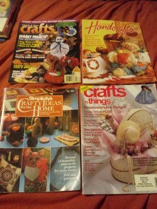 4 Craft Magazines/ Books
