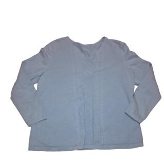 TALBOTS Light Blue V Neck Sweater XL