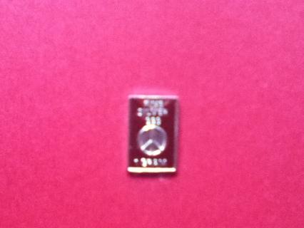 1 Gram .999 Silver Bar (Peace Sign)