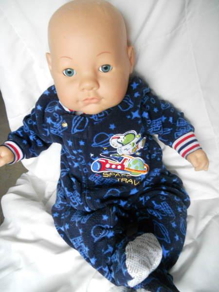 "Free: HK CITY TOYS, BLUE EYED BOY BABY DOLL 24"" - Dolls ..."