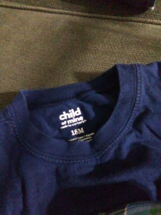 18 mo boys cargo shorts and t shirt
