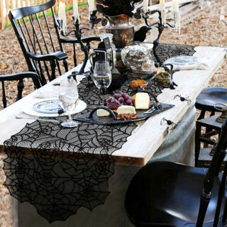 Beautiful Lace Holiday Table Runner